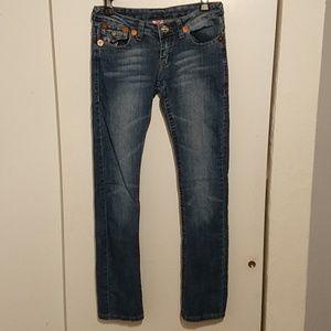 True religion Joey super t women's jeans size 27